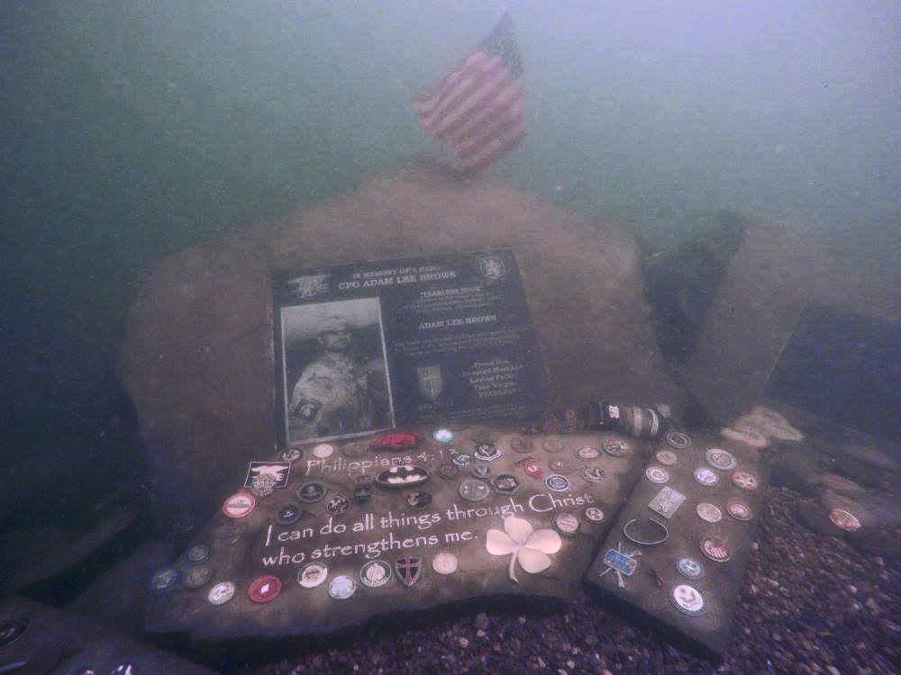 Fearless Rock – The Adam Brown Underwater Memorial